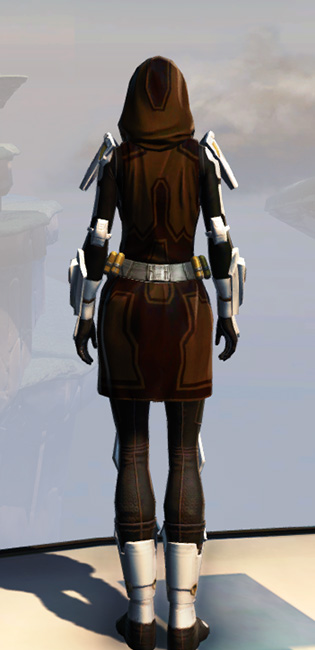 Remnant Underworld Knight Armor Set player-view from Star Wars: The Old Republic.