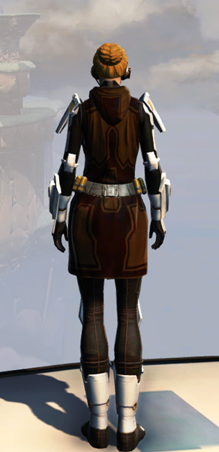 Remnant Underworld Knight (Hoodless) Armor Set player-view from Star Wars: The Old Republic.