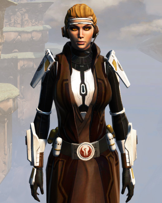 Remnant Underworld Knight (Hoodless) Armor Set Preview from Star Wars: The Old Republic.