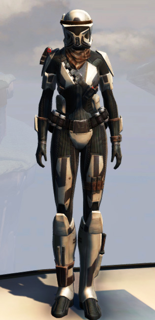 Remnant Underworld Trooper Armor Set Outfit from Star Wars: The Old Republic.