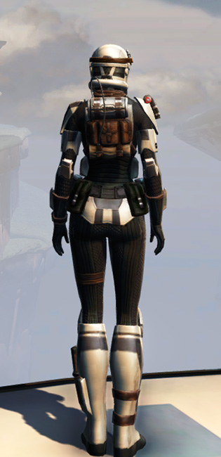 Remnant Underworld Trooper Armor Set player-view from Star Wars: The Old Republic.