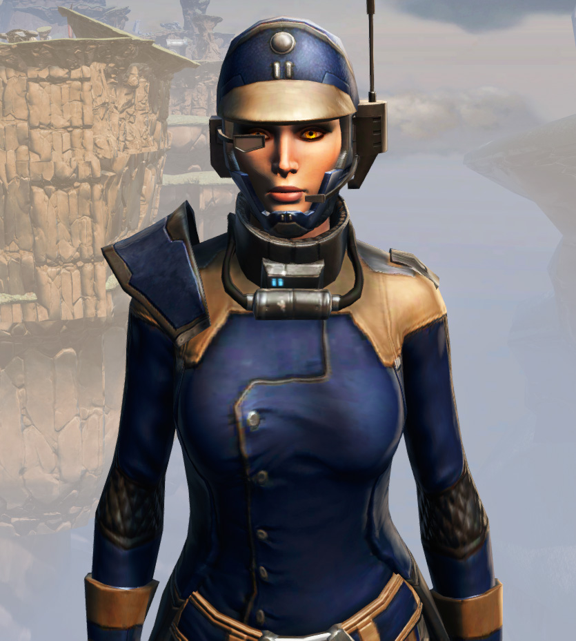 Remnant Yavin Agent Armor Set from Star Wars: The Old Republic.