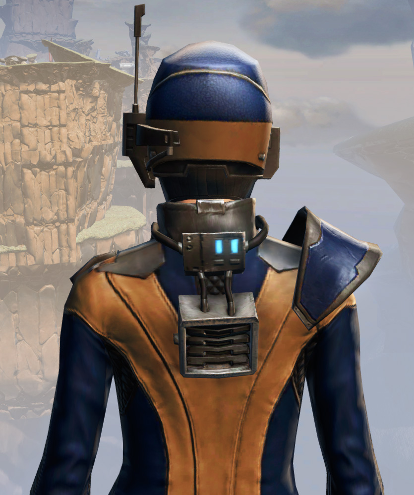 Remnant Yavin Agent Armor Set detailed back view from Star Wars: The Old Republic.