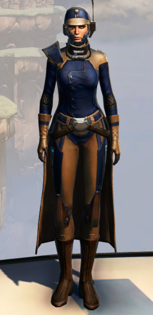 Remnant Yavin Agent Armor Set Outfit from Star Wars: The Old Republic.