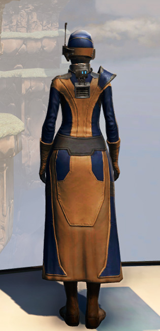 Remnant Yavin Agent Armor Set player-view from Star Wars: The Old Republic.