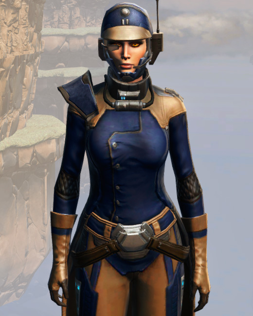 Remnant Yavin Agent Armor Set Preview from Star Wars: The Old Republic.