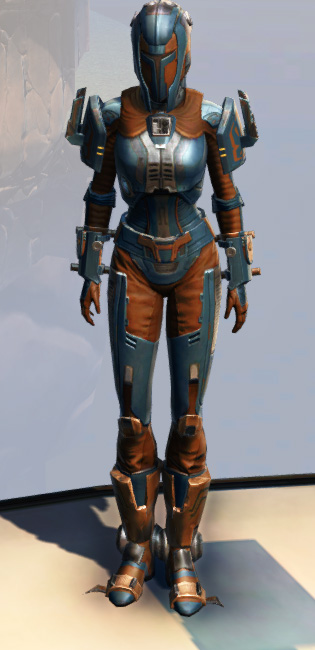 Remnant Yavin Bounty Hunter Armor Set Outfit from Star Wars: The Old Republic.