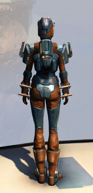 Remnant Yavin Bounty Hunter Armor Set player-view from Star Wars: The Old Republic.