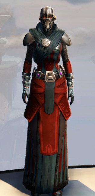 Remnant Yavin Inquisitor Armor Set Outfit from Star Wars: The Old Republic.