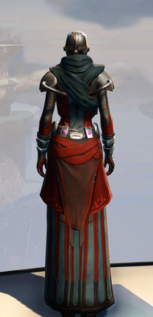 Remnant Yavin Inquisitor Armor Set player-view from Star Wars: The Old Republic.