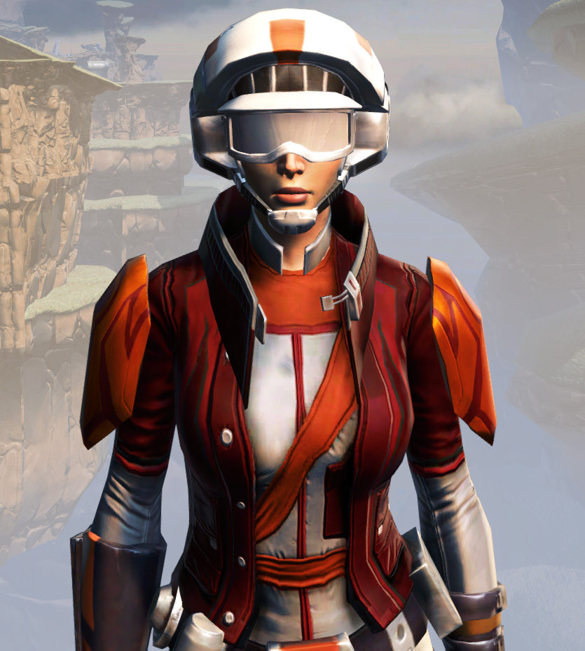 Remnant Yavin Smuggler Armor Set from Star Wars: The Old Republic.