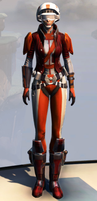 Remnant Yavin Smuggler Armor Set Outfit from Star Wars: The Old Republic.