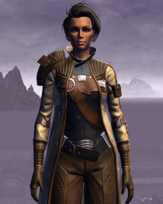 Renowned Duelist Armor Set Preview from Star Wars: The Old Republic.