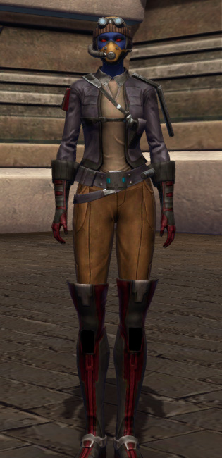 Repositioning Armor Set Outfit from Star Wars: The Old Republic.