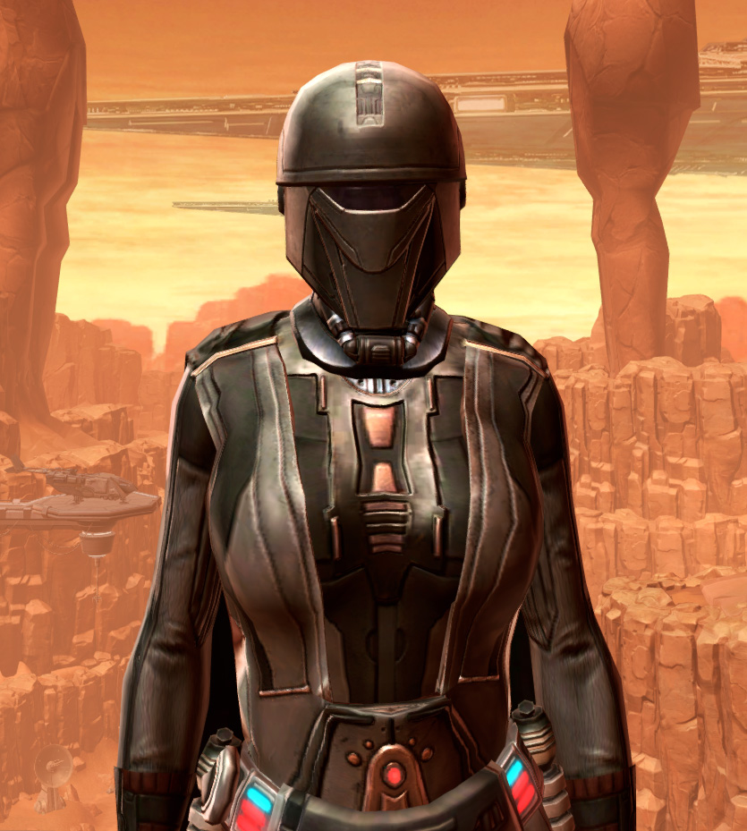 Resilient Lacqerous Armor Set from Star Wars: The Old Republic.
