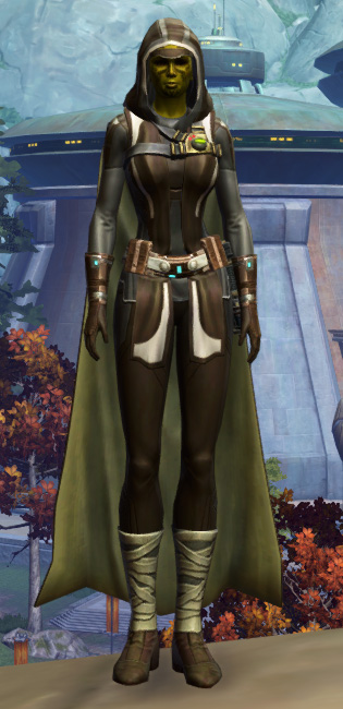 Resilient Lacqerous Armor Set Outfit from Star Wars: The Old Republic.