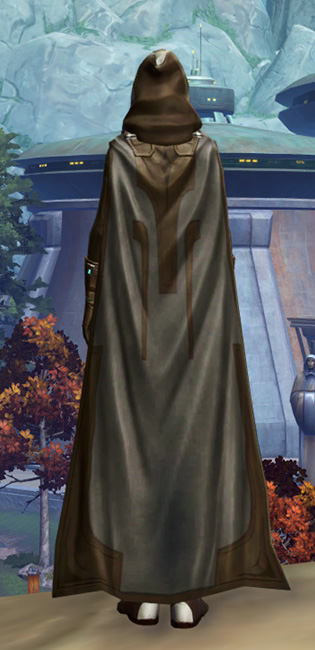 Resilient Lacqerous Armor Set player-view from Star Wars: The Old Republic.