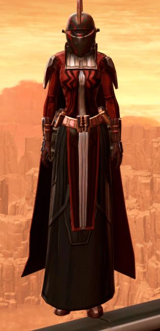 Resilient Polyplast Armor Set Outfit from Star Wars: The Old Republic.