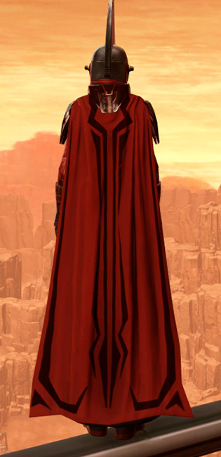 Resilient Polyplast Armor Set player-view from Star Wars: The Old Republic.