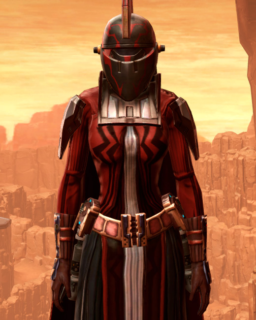 Resilient Polyplast Armor Set Preview from Star Wars: The Old Republic.