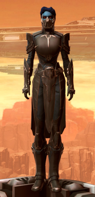 Resilient Warden Armor Set Outfit from Star Wars: The Old Republic.