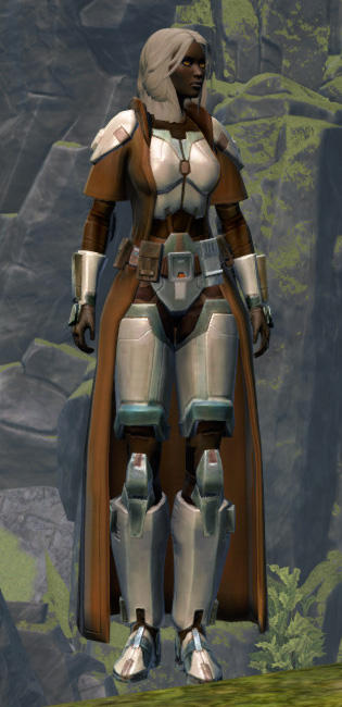 Resolute Guardian Armor Set Outfit from Star Wars: The Old Republic.