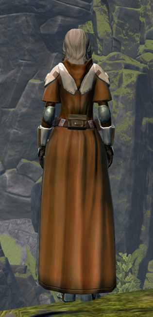 Resolute Guardian Armor Set player-view from Star Wars: The Old Republic.