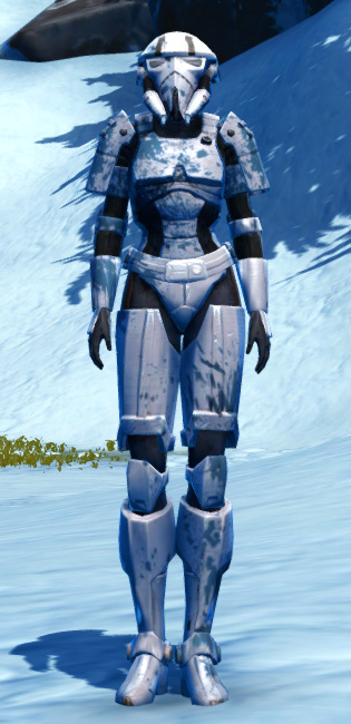 Resolute Protector Armor Set Outfit from Star Wars: The Old Republic.