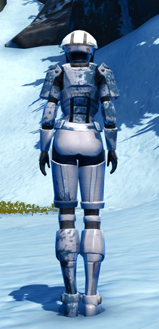 Resolute Protector Armor Set player-view from Star Wars: The Old Republic.