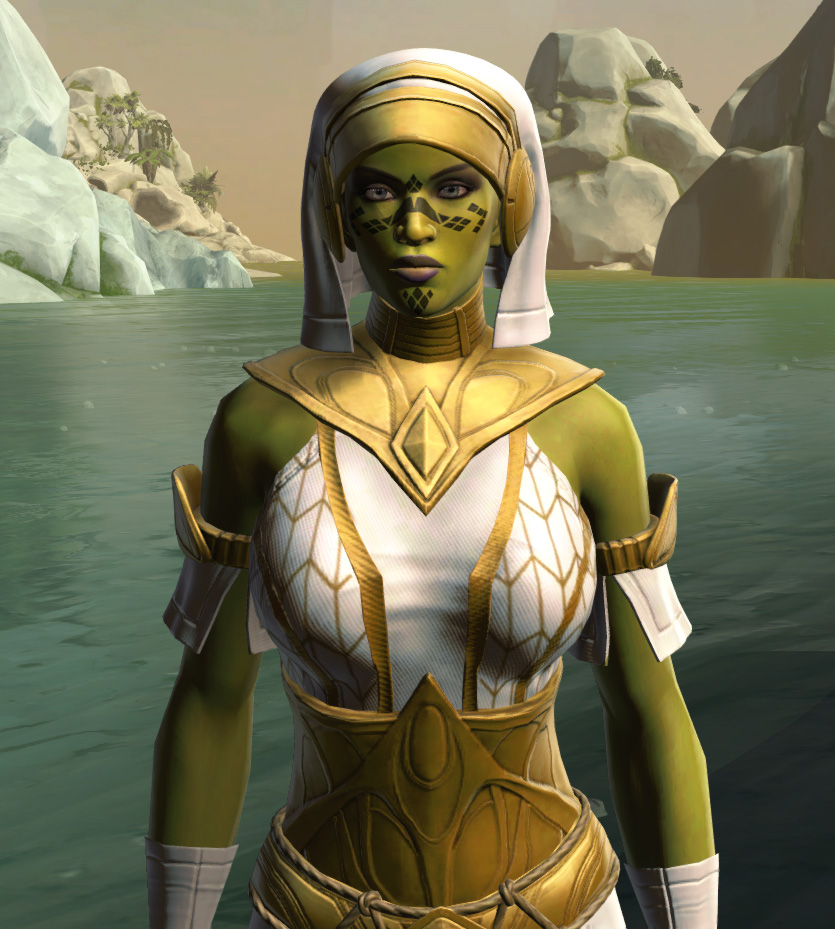 Resort Swimwear (no cape) Armor Set from Star Wars: The Old Republic.