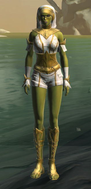 Resort Swimwear (no cape) Armor Set Outfit from Star Wars: The Old Republic.