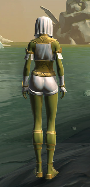 Resort Swimwear (no cape) Armor Set player-view from Star Wars: The Old Republic.