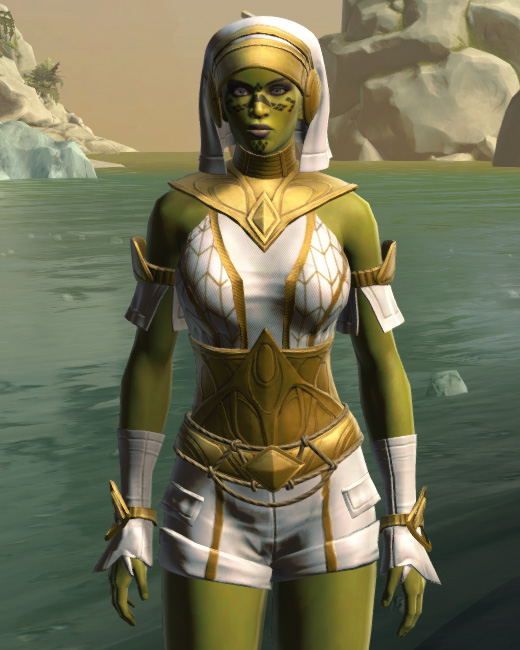 Resort Swimwear (no cape) Armor Set Preview from Star Wars: The Old Republic.