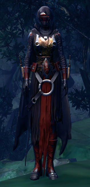 Revan Reborn Armor Set Outfit from Star Wars: The Old Republic.