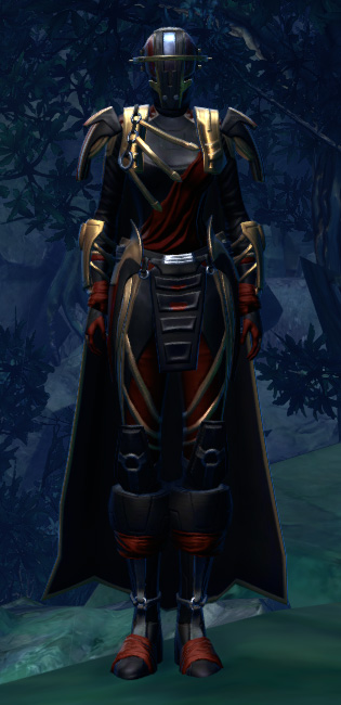 Revanite Avenger Armor Set Outfit from Star Wars: The Old Republic.