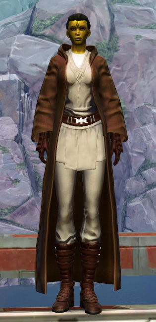 Revered Master Armor Set Outfit from Star Wars: The Old Republic.
