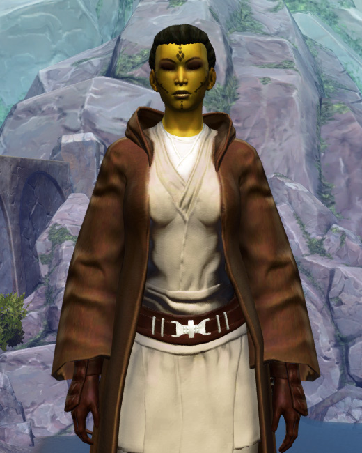 Revered Master Armor Set Preview from Star Wars: The Old Republic.
