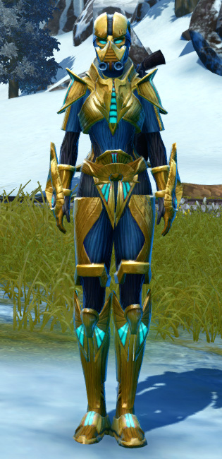 Righteous Enforcer Armor Set Outfit from Star Wars: The Old Republic.