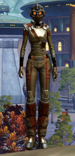 Romex Aegis Armor Set Outfit from Star Wars: The Old Republic.