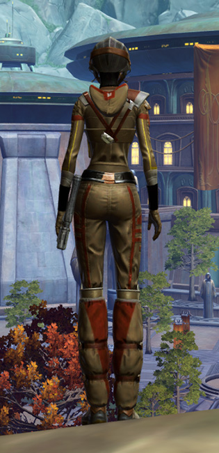 Romex Aegis Armor Set player-view from Star Wars: The Old Republic.