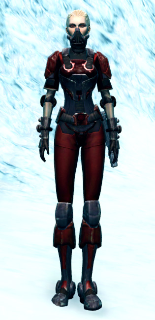 Ruthless Challenger Armor Set Outfit from Star Wars: The Old Republic.