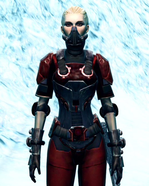 Ruthless Challenger Armor Set Preview from Star Wars: The Old Republic.