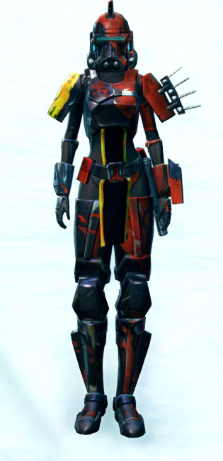 Ruthless Commander Armor Set Outfit from Star Wars: The Old Republic.