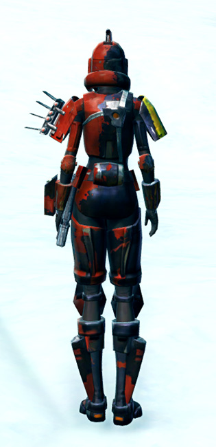 Ruthless Commander Armor Set player-view from Star Wars: The Old Republic.