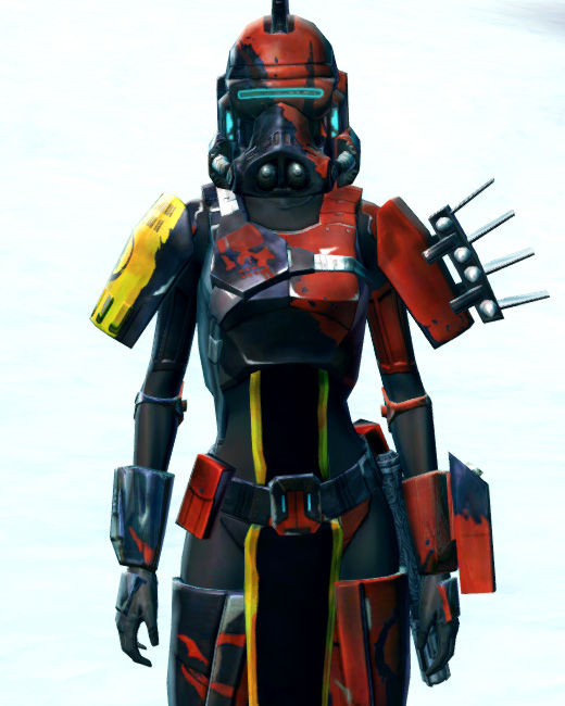 Ruthless Commander Armor Set Preview from Star Wars: The Old Republic.