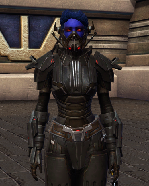 Ruthless Oppressor Armor Set Preview from Star Wars: The Old Republic.