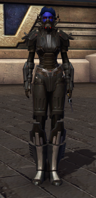 Ruthless Oppressor Armor Set Outfit from Star Wars: The Old Republic.