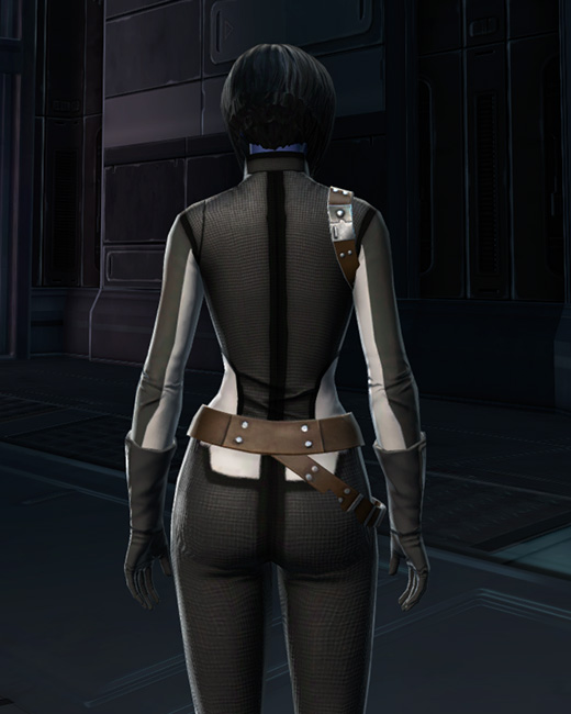 RV-03 Speedsuit Armor Set Back from Star Wars: The Old Republic.