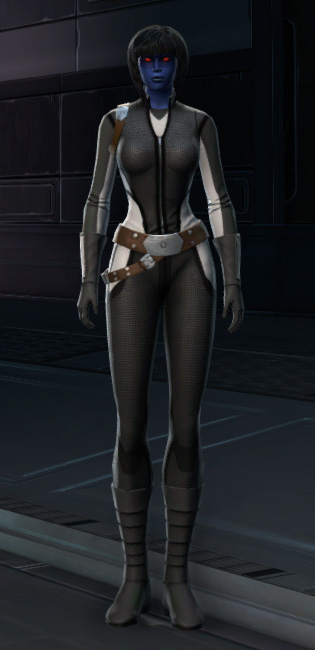 RV-03 Speedsuit Armor Set Outfit from Star Wars: The Old Republic.