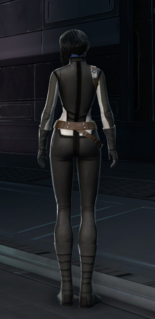 RV-03 Speedsuit Armor Set player-view from Star Wars: The Old Republic.
